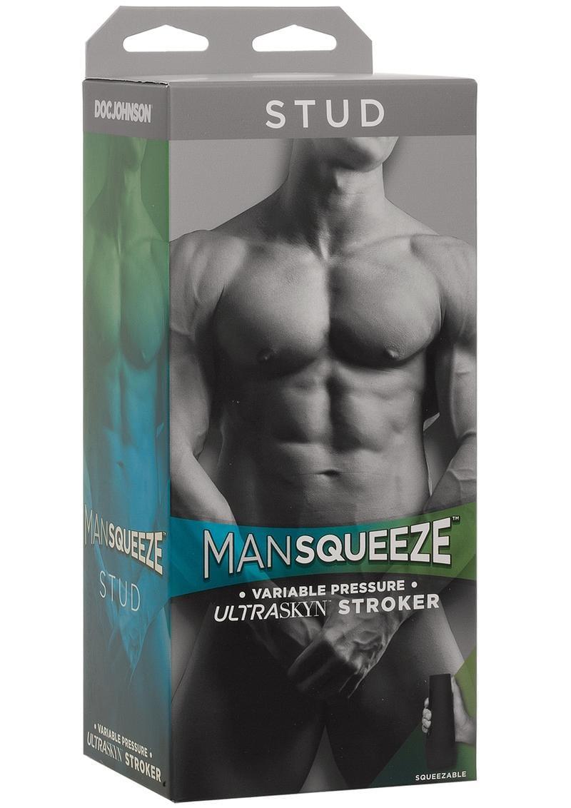Man Squeeze Stud Ass Vanilla