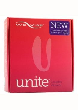 We Vibe New Unite Couples Vibrator Silicone USB Rechargeable Vibe With Wireless Remote Splashproof Purple