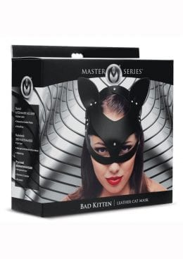 Ms Bad Kitten Leather Cat Mask