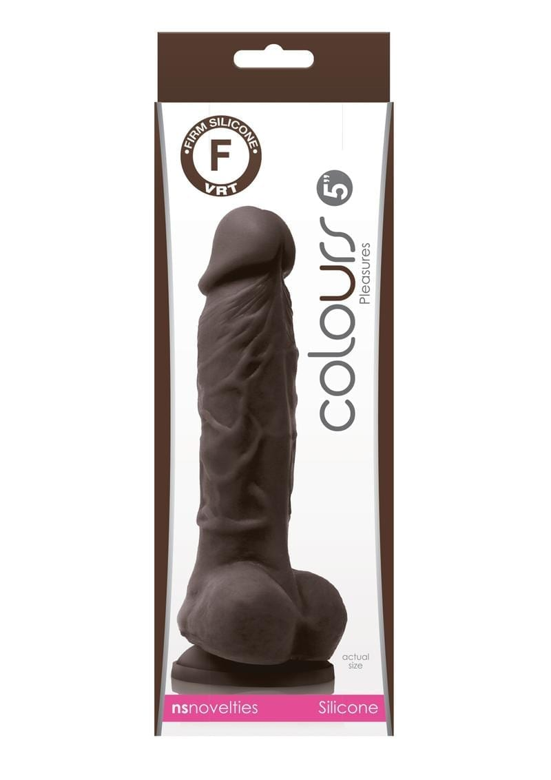 Colours Pleasures Dong 5 Non Vibrating Silicone Brown