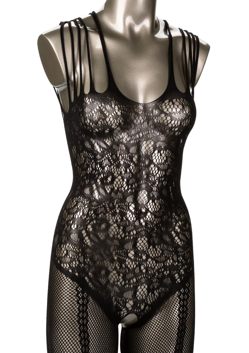 Scandal Strappy Lace Body Suit