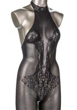 Scandal Halter Lace Body Suit