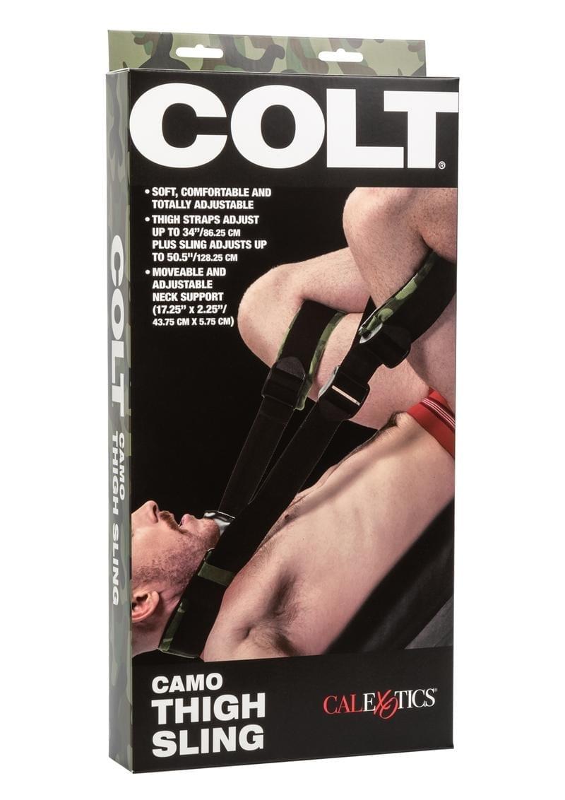Colt Camo Thigh Sling Adjustable Bondage Fetish