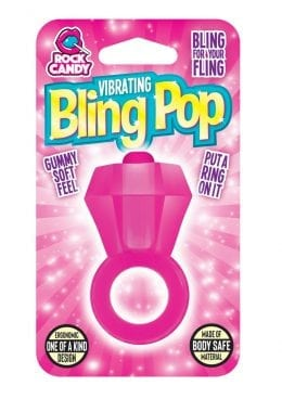 Rock Candy Bling Pop Ring Pink