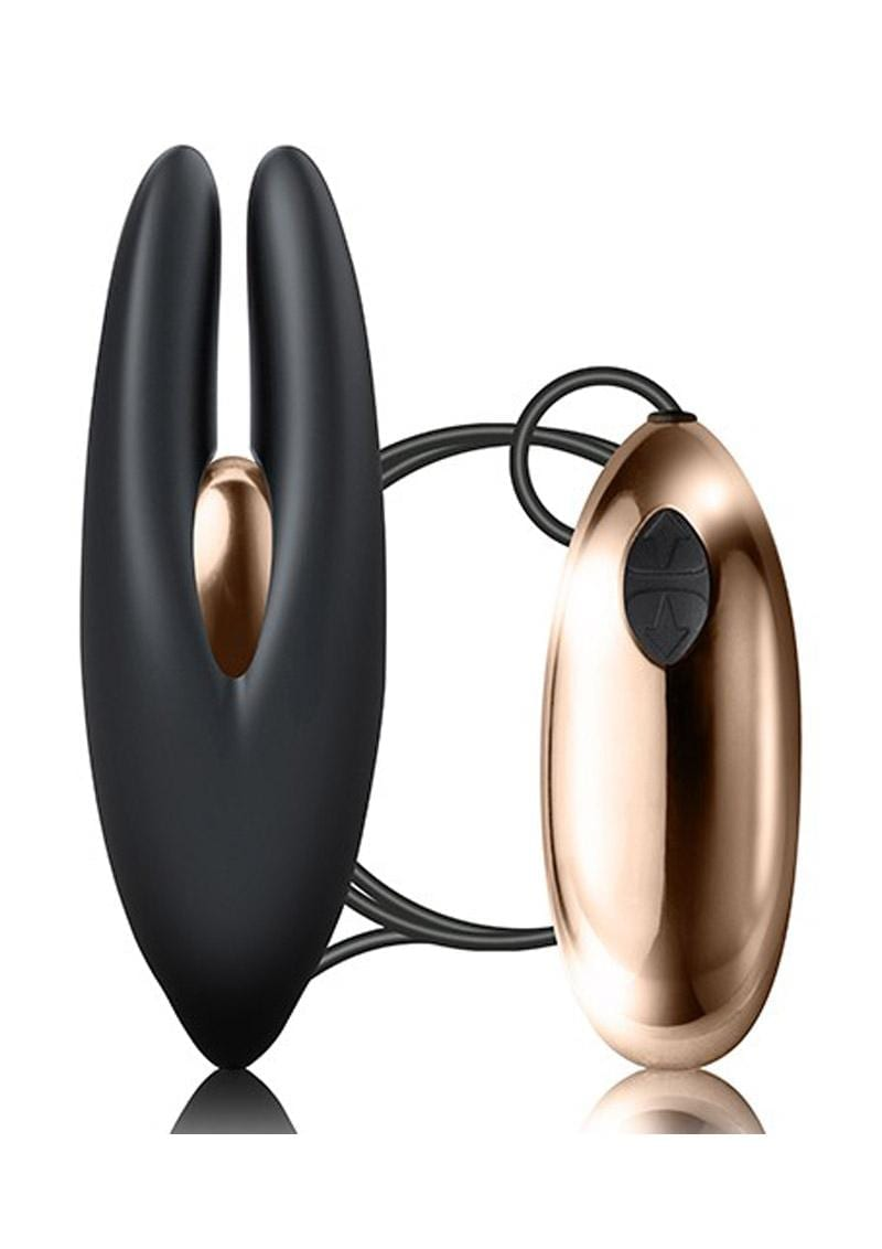 Mimosa Sleek Satisfaction Clitoral Stimulator Multi Function USB Magnetic Charge  Waterproof Black