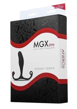 Aneros Trident Mgx Syn Male G-Spot Stimulator Black