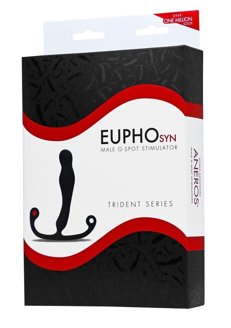 Aneros Trident Eupho Syn Male G-Spot Stimulator Black