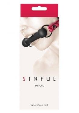 Sinful Bar Gag Pink