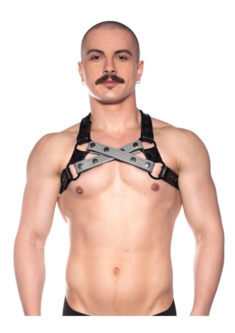 Prowler Red Cross Harness Gry L/xl