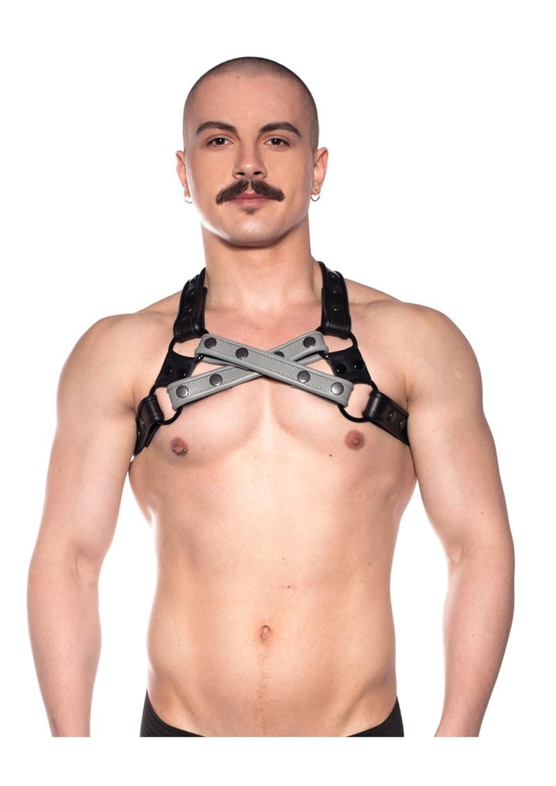 Prowler Red Cross Harness Gry S/m