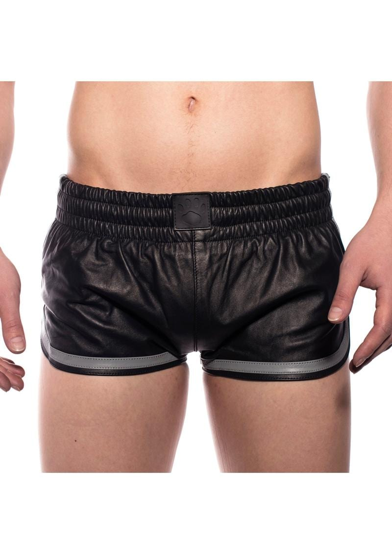Prowler Red Leather Sport Shorts Gry Md