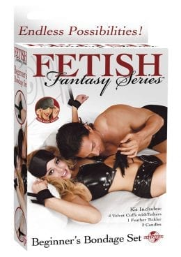 Fetish Fantasy Series Beginners Bondage Set Black