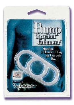 Dr Joel Kaplan Pump Erection Enhancer Stretchy Hanheld Ring Clear