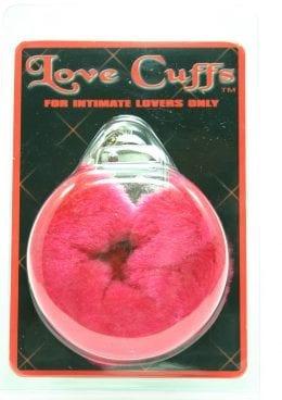 FURRY LOVE CUFFS RED