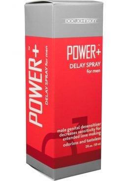 Power Plus Delay Spray For Men 2 Ounce