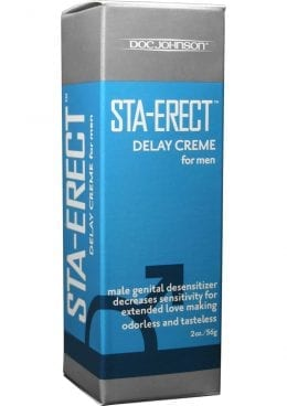 Sta Erect Delay Creme For Men 2 Ounce