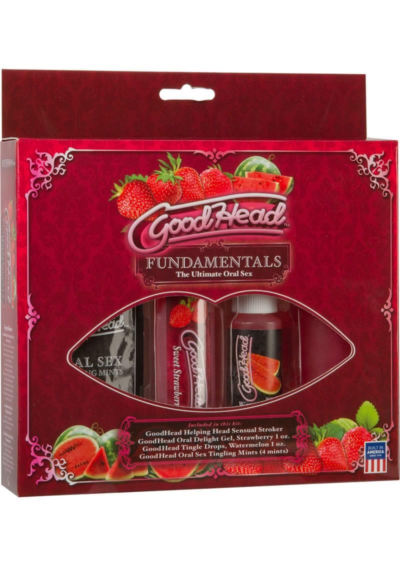 Goodhead Fundamentals The Ultimate Oral Sex Kit