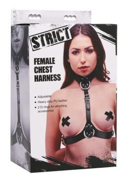 Strict Female Chest Harness Adjustable Bondage