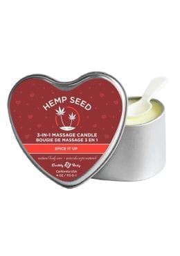 Heart Candle Spice It Up 4oz