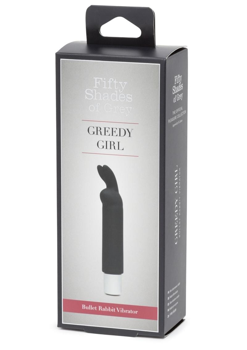 Fifty Shades Of Grey Greedy Girl Bullet Rabbit Vibrator Waterproof  Rechargeable