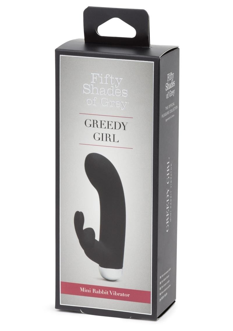 Fifty Shades Of Grey Greedy Girl Mini Rabbit Vibrator Waterproof Rechargeable