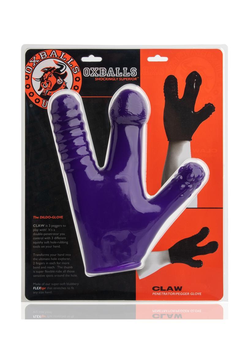 Claw Glove Eggplant
