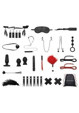Lux F Bondage In A Box 20pc