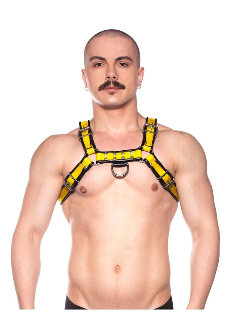 Prowler Red Bull Harness Blk/yell Sm