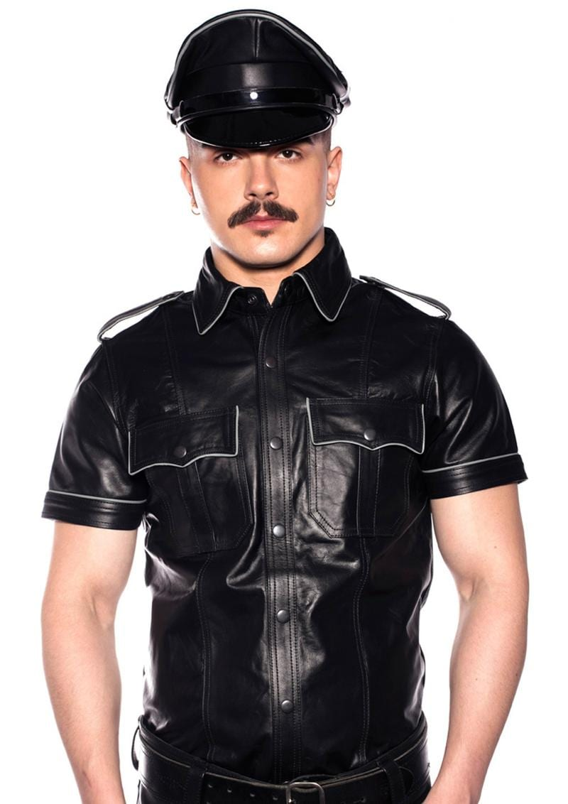 Prowler Red Police Shirt Pipe Blk/gry Sm