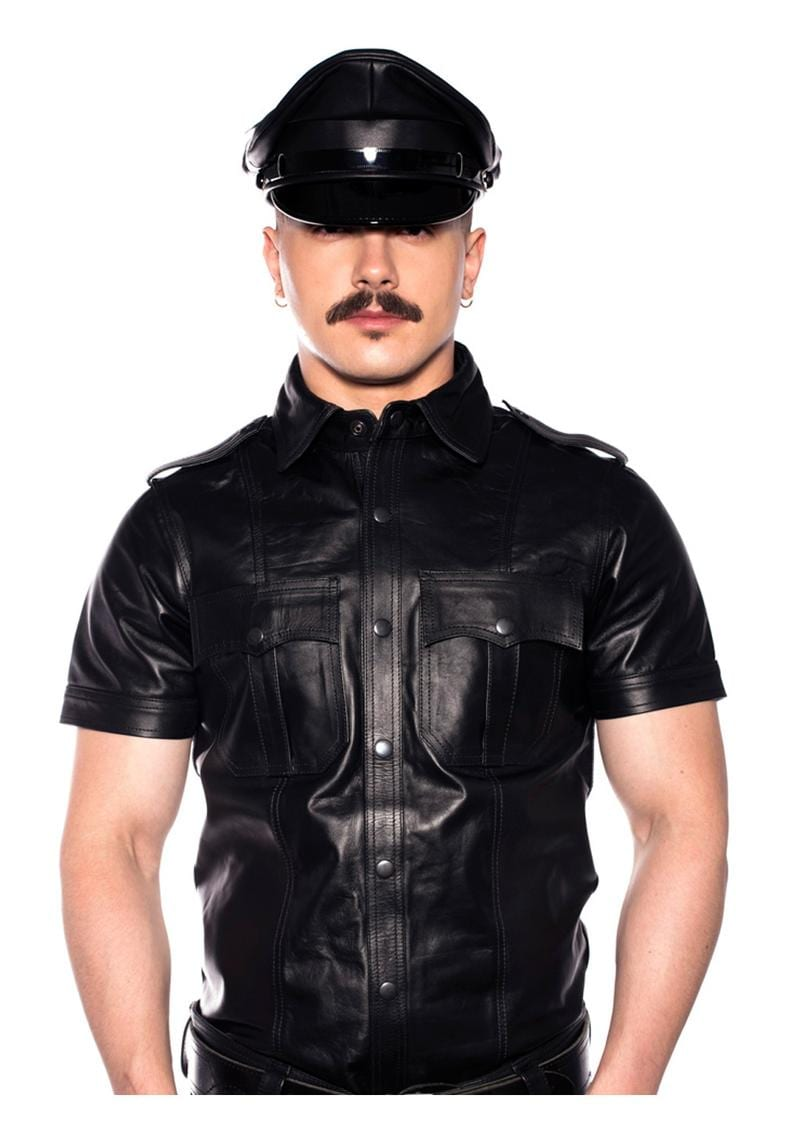 Prowler Red Police Shirt Blk Xxlg
