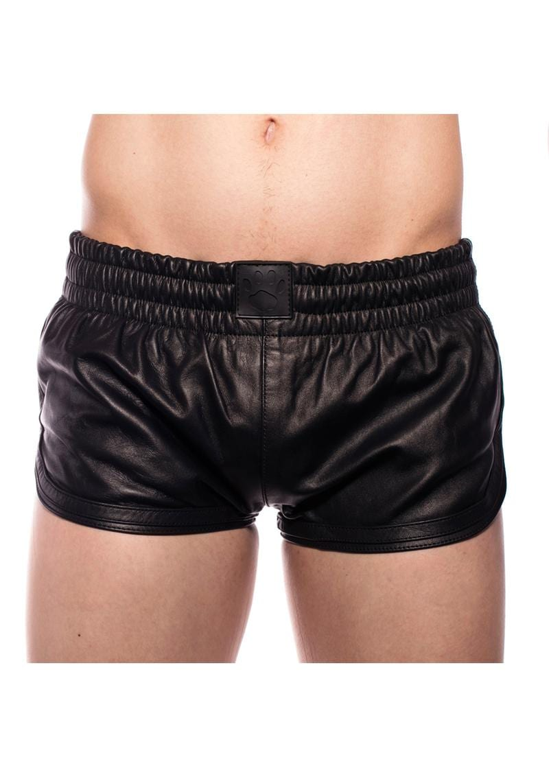 Prowler Red Leather Sport Shorts Xxxl