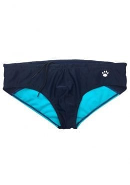 Prowler Swim Brief Navy Aqua Sm