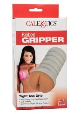 Ribbed Gripper Tight Ass Brown