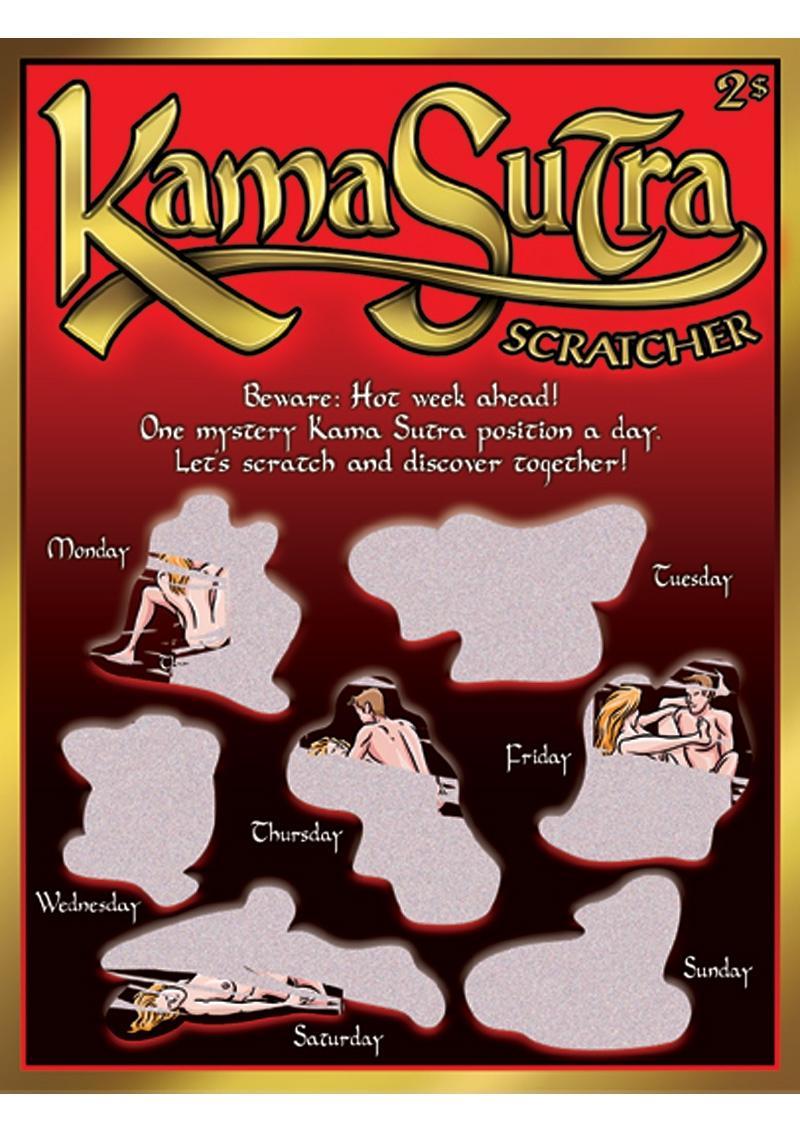 Kama Sutra Scratcher Game Ticket