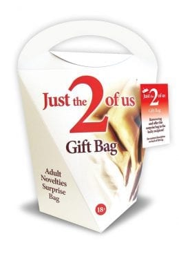 Just The 2 Of Us 6 Piece Gift Bag/Kit Novelty Item