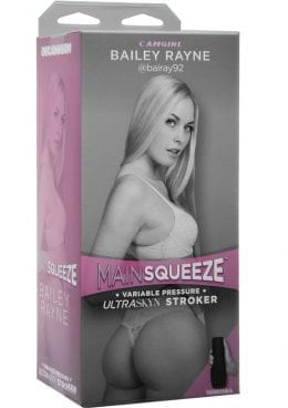 Main Squeeze Camgirl Bailey Rayne UltraSkyn Stroker Pussy Vanilla 9 Inches