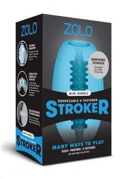 Zolo Mini Stroker Dome Blue