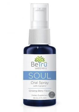 Be Tru Soul Oral Spray Emulsified Hemp Oil Ginseng Berry  30ml