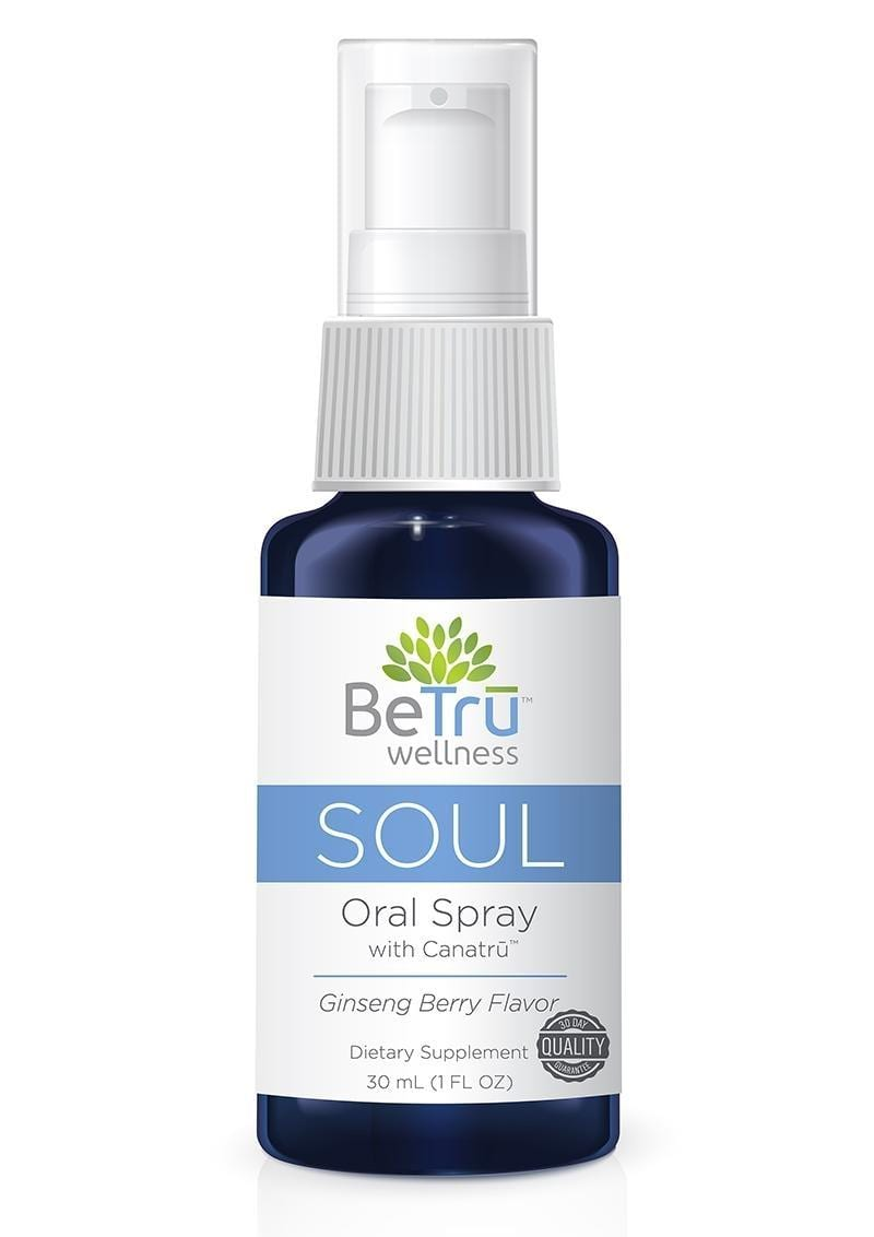 Be Tru Soul Oral Spray Emulsified Hemp Oil Ginseng Berry  30ml