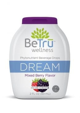 Be Tru Dream Mixed Berry Shot 2 Oz Beverage Drops