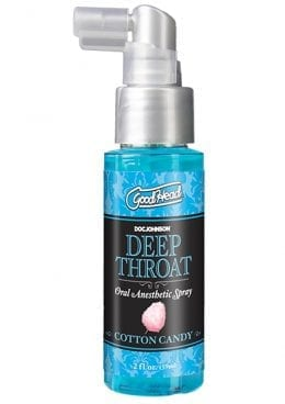 Goodhead Deep Throat Spray Cotton Candy